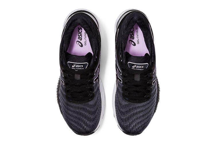ASICS Women's Gel-Nimbus 22 Running Shoe (Black/Lilac Tech, Size 9 US)