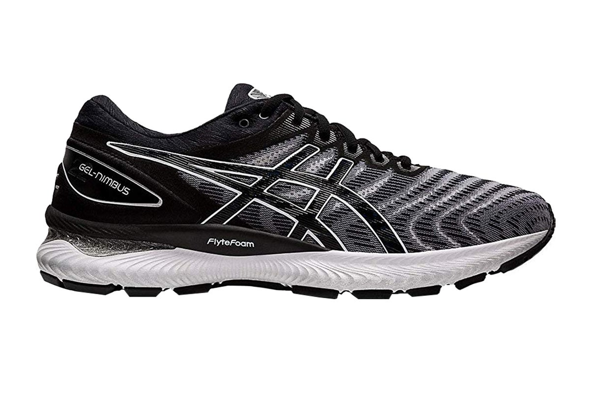 Gel-Nimbus 22 Running Shoe (White/Black