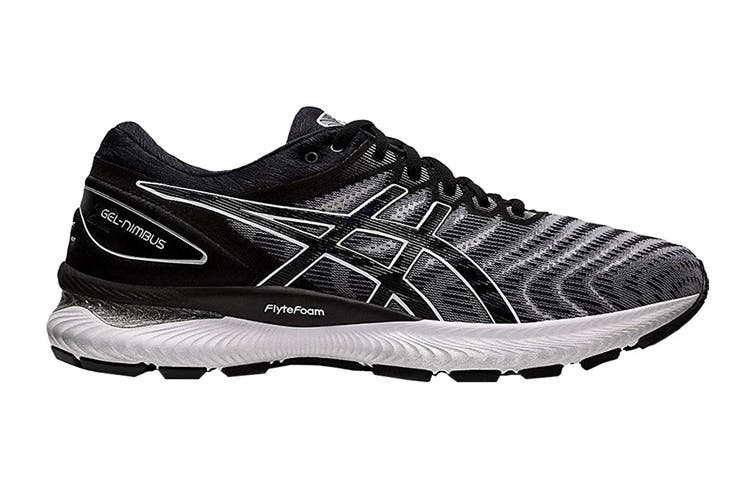 ASICS Women's Gel-Nimbus 22 Running Shoe (White/Black, Size 11 US)