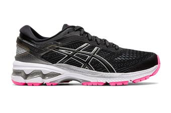 ASICS Women's Gel-Kayano 26 Lite-Show Running Shoe (Black)
