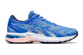 ASICS Women's GT-2000 8 Running Shoe (Blue Coast/White, Size 8 US)