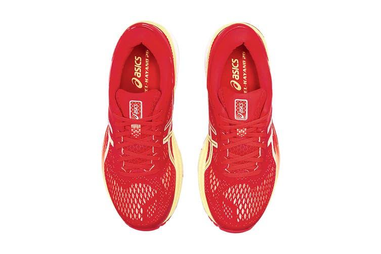 ASICS Women's Gel-Kayano 26 Running Shoe (Laser Pink/Sour Yuzu, Size  9 US)