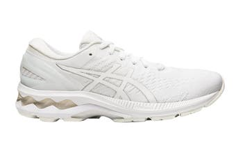 ASICS Women's Gel-Kayano 27 Running Shoe (White/White, Size 12 US)
