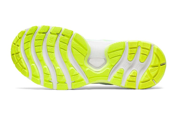 ASICS Women's Gel-Nimbus 22 Modern Tokyo Running Shoe (Mint Tint/Safety Yellow, Size 6.5 US)