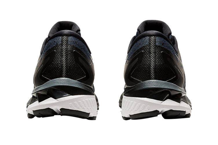 ASICS Women's Gel-Kayano 27 (D Wide) Running Shoe (Black/Pure Silver, Size 12 US)