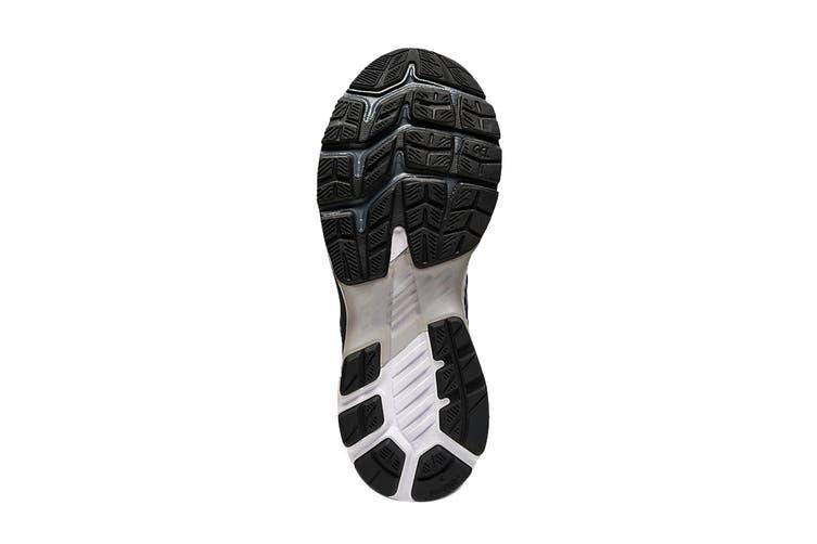 ASICS Women's Gel-Kayano 27 (D Wide) Running Shoe (Black/Pure Silver, Size 6 US)
