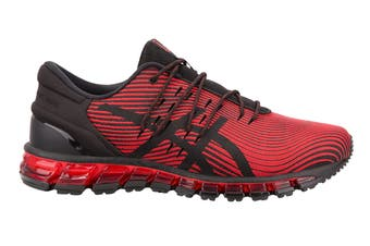 ASICS Men's Gel-Quantum 360 4 Running Shoe (Red Alert/Black)