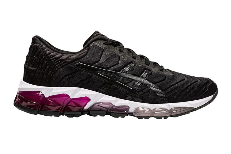 ASICS Women's Gel-Quantum 360 5 Running Shoe (Black/Black, Size 5.5 US)