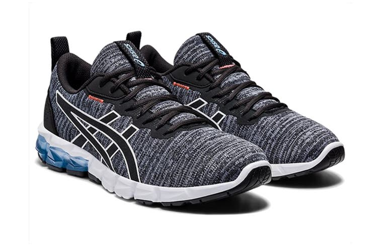 ASICS Women's Gel-Quantum 90 2 Street Running Shoe (Graphite Grey/Blue Bliss, Size 8 US)
