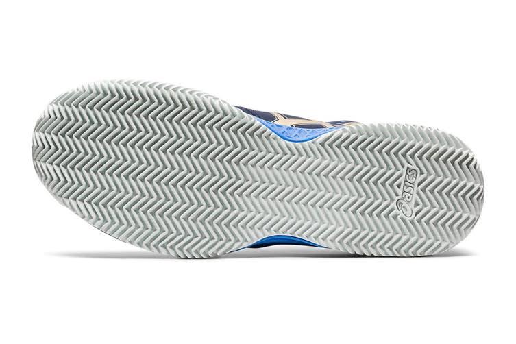 ASICS Men's Gel-Challenger 12 Clay Tennis Shoe (Peacoat/Champagne, Size 11 US)