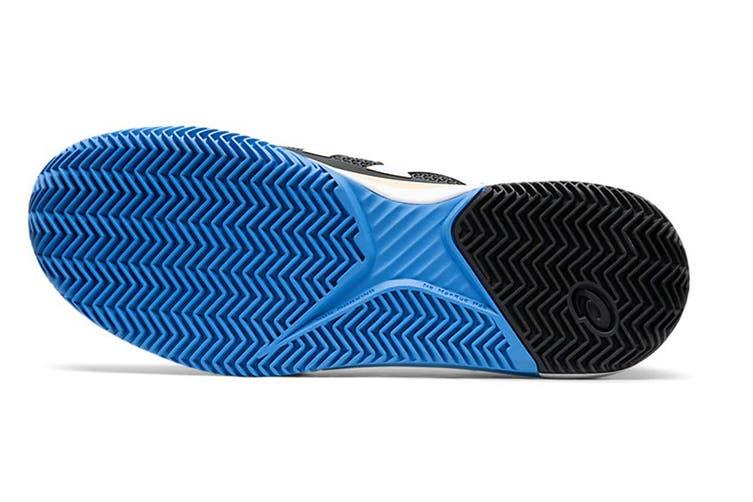 ASICS Men's Gel-Resolution 8 Clay Tennis Shoe (Black/White, Size 9.5 US)