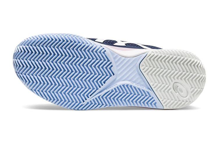 ASICS Women's Gel-Resolution 8 Clay Tennis Shoe (Peacoat/White, Size 10 US)