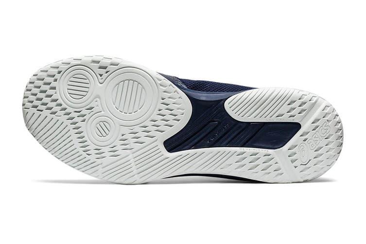 ASICS Men's Netburner Ballistic Ff Mt Court Shoe (Midnight/Pure Silver, Size 9 US)