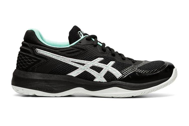 ASICS Women's Netburner Ballistic Ff Court Shoe (Black/Pure Silver, Size 7.5 US)