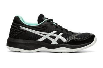 ASICS Women's Netburner Ballistic Ff Court Shoe (Black/Pure Silver, Size 7 US)