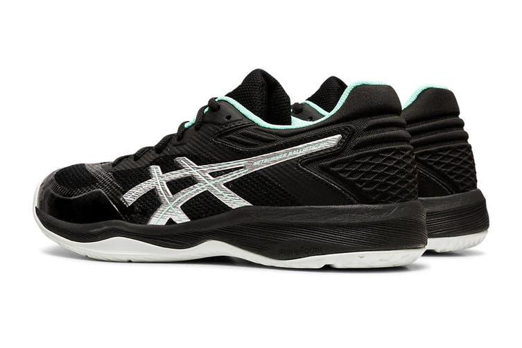ASICS Women's Netburner Ballistic Ff Court Shoe (Black/Pure Silver, Size 8.5 US)