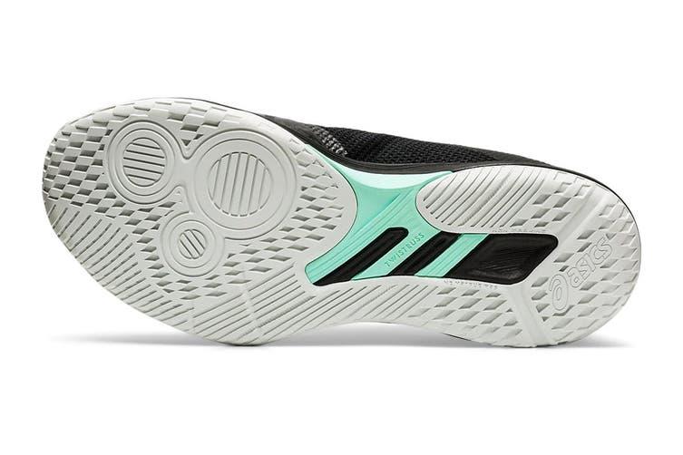 ASICS Women's Netburner Ballistic Ff Court Shoe (Black/Pure Silver, Size 9.5 US)