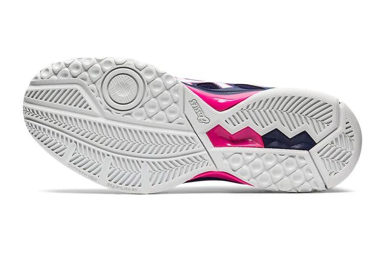 ASICS Women's Gel-Rocket 9 Running Shoe (Peacoat/White, Size 7.5 US)