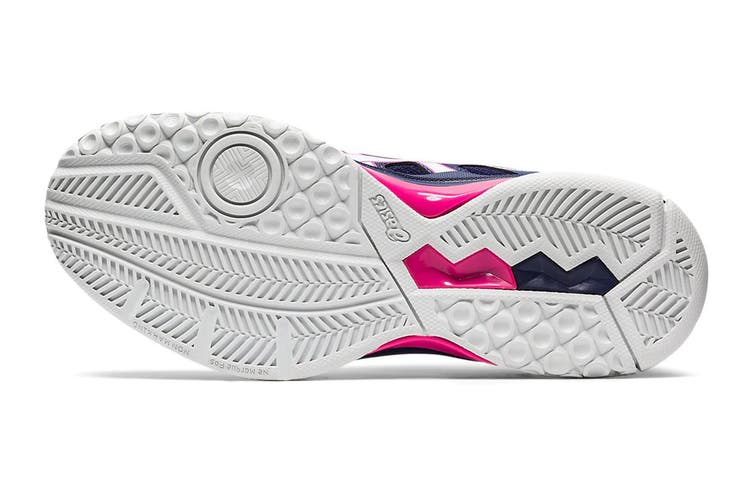 ASICS Women's Gel-Rocket 9 Running Shoe (Peacoat/White, Size 8 US)