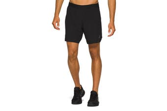 ASICS Men's Road 2-N-1 Shorts (Performance Black)
