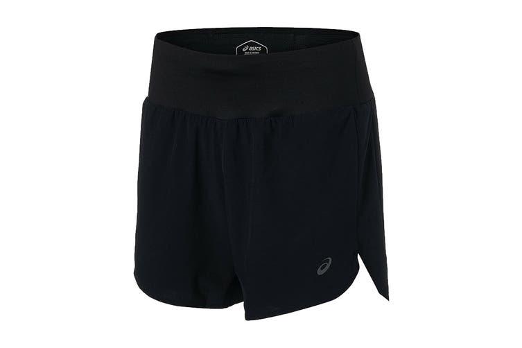 ASICS Women's Road Shorts (Performance Black, Size M)