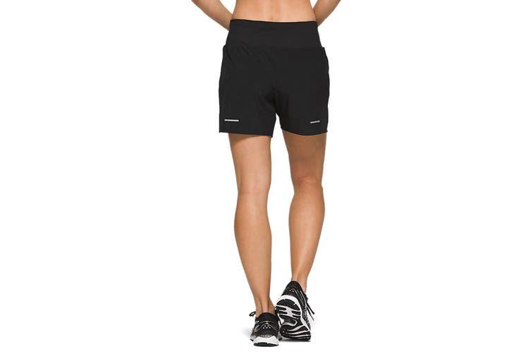 ASICS Women's Road Shorts (Performance Black, Size XS)