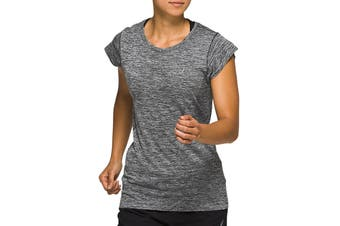 ASICS Women's Race Seamless Short Sleeve (Performance Black, Size M)