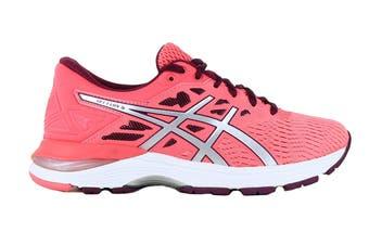 ASICS Women's GEL-Flux 5 Running Shoe (Pink Cameo/Silver, Size 7.5)