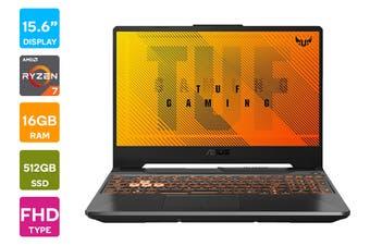 """ASUS TUF 15.6"""" Ryzen R7-4800H 16GB RAM 512GB SSD GTX1660Ti 144Hz Win10 Gaming Laptop (FA506IU-AL130T)"""
