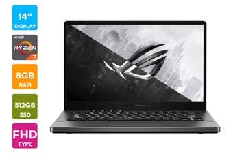 """ASUS ROG Zephyrus G 14"""" Ryzen R7-4800HS 16GB RAM 512GB SSD GTX1650Ti 120Hz Win10 Gaming Laptop (GA401II-HE003T)"""