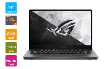 "ASUS ROG Zephyrus G 14"" Ryzen R9-4900HS 16GB RAM 512GB SSD RTX2060 60Hz Win10 Gaming Laptop (GA401IV-HA127T)"