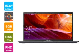 "ASUS 15.6"" Ryzen R7-3700 8GB RAM 512GB SSD FHD Win10 Home Laptop (D509DA-EJ773T)"