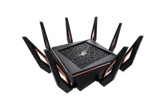 ASUS ROG Rapture GT-AX11000 Tri-band Wi-Fi 6 Gaming Router (GT-AX11000)