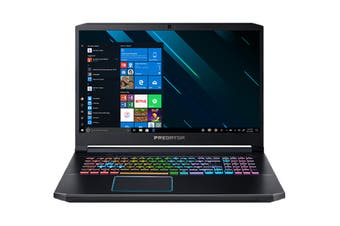 "Acer Predator Helios 300 17.3"" Core i7-9750H 16GB RAM 512GB SSD GeForce RTX 2060 W10H 144Hz Gaming Laptop (NH.Q5QSA.001-C77)"