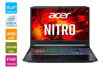 "Acer Nitro 15.6"" Core i5-10300H 8GB RAM 256GB SSD GTX 1650 Windows 10 Home Gaming Laptop (NH.Q7RSA.003)"