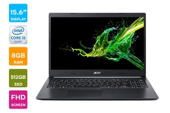 "Acer Aspire 15.6"" Core i5-1035G1 8GB RAM 512GB SSD Windows 10 Home Laptop (NX.HSKSA.003)"