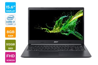 "Acer Aspire 15.6"" Core i7-1065G7 8GB RAM 512GB SSD Windows 10 Home Laptop (NX.HSKSA.007)"