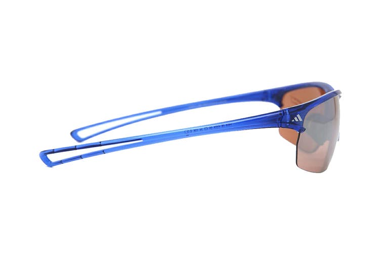 Adidas Raylor L Sunglasses (Transparent Blue, Size 65-16-135) - Lst Active Silver