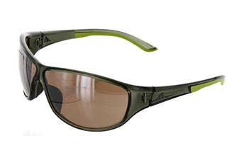 Adidas Daroga Sunglasses (Green Transparent/Lime, Size 68-6-130) - Lst Contrast Silver