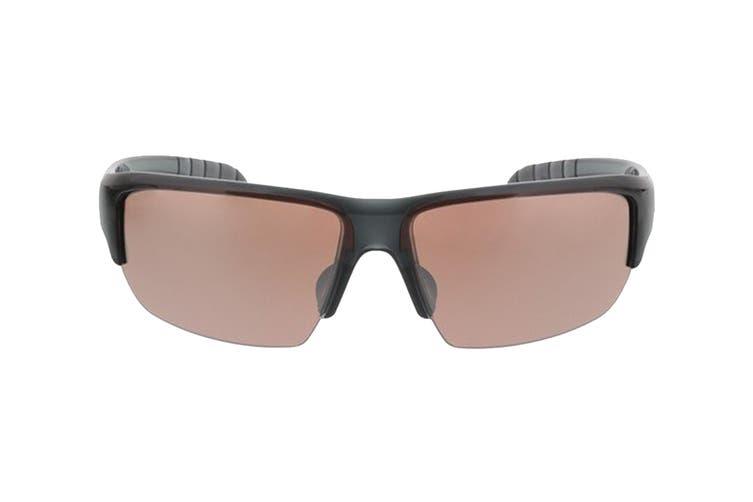 Adidas Kumacross Sunglasses (Transparent Grey, Size 68-11-140) - Lst Active Silver