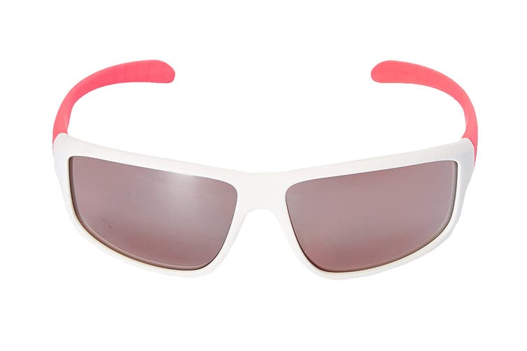 Adidas Kumacross 2.0 Sunglasses (Matte White/Flash Red, Size 64-13-140) - Lst Active Silver