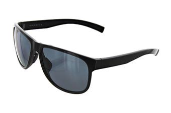 Adidas Sprung Sunglasses (Shiny Black, Size 60-16-140) - Grey Polarized