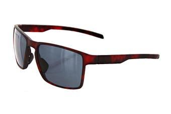 Adidas Unisex Wayfinder Sunglasses (Red Havana, Size 56-17-135) - Grey