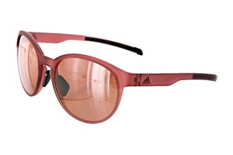 Adidas AD3175 Sunglasses (Trace Matte Maroon, Size 55-17-135) - Lst Active Silver
