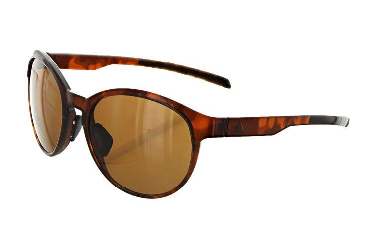 Adidas AD3175 Sunglasses (Brown Havana, Size 55-17-135) - Brown