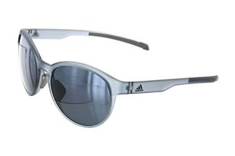 Adidas AD3175 Sunglasses (Crystal Grey, Size 55-17-135) - Chrome Mirror