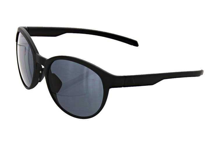 Adidas AD3175 Sunglasses (Matte Black, Size 55-17-135) - Grey
