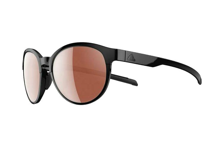 Adidas AD3175 Sunglasses (Shiny Black, Size 55-17-135) - Lst Active Silver