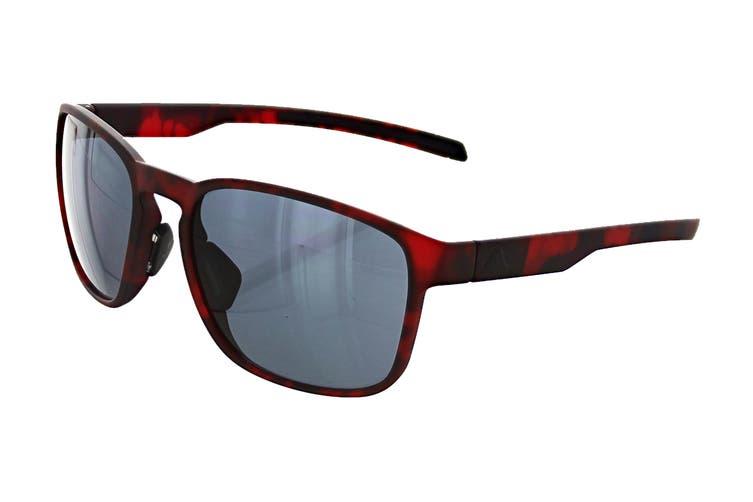 Adidas AD3275 Sunglasses (Red Havana, Size 56-18-135) - Grey