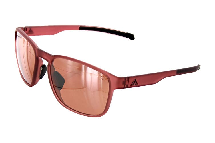 Adidas AD3275 Sunglasses (Trace Matte Maroon, Size 56-18-135) - Lst Active Silver